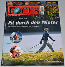 Focus Heft 49 / 2004  -  Fit durch den Winter
