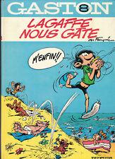 Gaston 8. Lagaffe nous gâte. FRANQUIN 1970. TTB