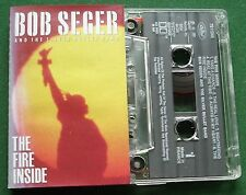 Bob Seger & The Silver Bullet Band The Fire Inside Cassette Tape - TESTED