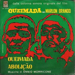 ENNIO MORRICONE COLONNA SONORA DEL FILM QUEIMADA 45 GIRI