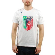 Men's PUMA Italia Italy Italian Football Federation T-Shirt White XXL (T30) $34