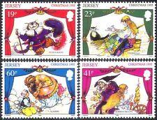 Jersey 1995 Teatro/Navidad/mimos/Gatos/Genie/saludos 4 V Set (b7694)