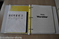 WORDSTAR Ver.3.0 by MicroPro Vintage Software 8 inch Diskette with User Manual