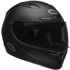 Bell Qualifier DLX MIPS Full Face Motorcycle Helmet Flat Matte Black Medium NEW