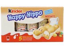 KINDER HAPPY HIPPO 50 BAR. 10 Pack 5 bar/conf. Pasqua Regalo Scatola di cioccolato.