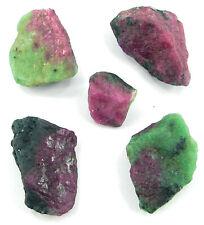 100.00CT Rubí Natural Zoisita Chiaraneomelodica Piedra Preciosa Cristal Lote 5