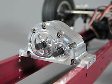Transfer Case 2:1 Reduction Auxiliary Transmission Gear Box Tamiya King Hauler