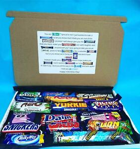 17 Piece Large Chocolate Poem Gift Box Lockdown Survival Anniversary Letterbox