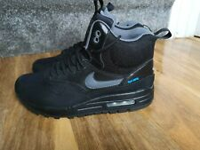 Nike Air Max 1 Mid Sneakerboot womens trainers, size 7 UK 685267-001