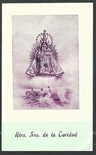 image pieuse ancianne Virgen de la Caridad del Cobre holy card santino estampa