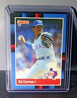 1988 Ed Correa Donruss #57 Baseball Card