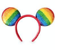 Disney Store Rainbow Disney Collection - Mickey Mouse Ear Headband 2020 NWT