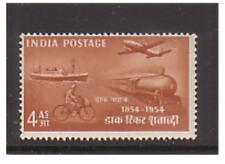 India - SG 350 - u/m - 1954 - 4a - Postal Transport