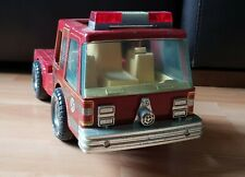 Nylint Fire Truck Tractor Unit Vintage Tin Truck Retro 80s Toy
