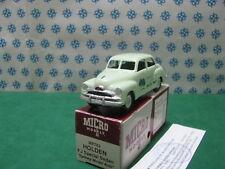 "Vintage  Micro Models -  HOLDEN  FJ  special  ""Sydney Model Auto ""  MM402  - MIB"