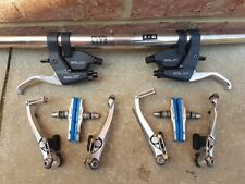 Shimano Deore XT M739 Shifters Levers & V-brakes  VGC