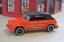 Hot Wheels VW Type 181 Volkswagen  - Red - Loose - 1:64