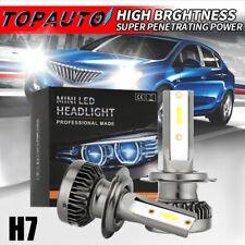 MINI H7 LED Headlight Bulbs Conversion Kit 200W 48000LM 6000K Hi/Lo Beam Lamps J