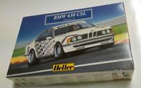 HELLER KIT BMW 630 CSL VINTAGE PLASTIC MODEL MINT UNOPENED 635 CS RARE