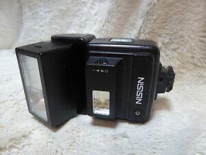 Vintage Nissin 360TW Shoe Mount Flash film camera photography retro adjustable