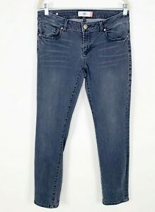 Cabi Gray Slim Boyfriend Jeans Style #3191 Size 6