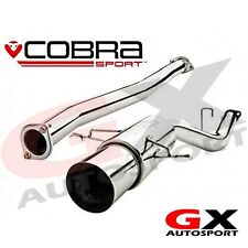 "SB03z Cobra Subaru Impreza WRX STI 01-05 Race Type Cat Back Exhaust 3"" Non Res"