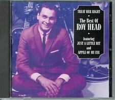Roy Head Treat Her Right Best of CD OOP