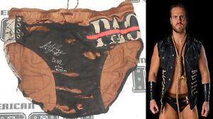 Hangman Adam Page Signed Ring Worn Used Trunks COA New Japan Pro Wrestling AEW