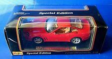 MAISTO FERRARI 550 MARANELLO RED Special Edition #46629 ~ 1/18 Scale ~ NIB NEW