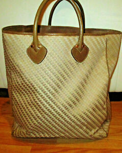 Authentic Vintage GUCCI XL Shopper Tote Overnight Weekend Purse
