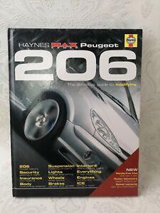 Haynes max Power Peugeot 206 by Richard Nicholls Hardback Illustrations F335