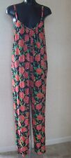 PPQ Floral Print Jumpsuit Size Medium approx Size 12 - 14 NEW TAGS