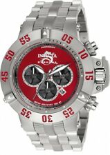 New Mens Invicta 24448 50mm Subaqua Noma Chronograph Steel Bracelet Watch