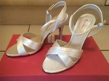 Rainbow Club High (3-4.5 in.) Satin Bridal Shoes