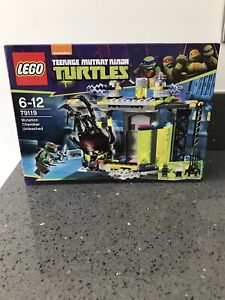 lego teenage mutant ninja turtles 79119 New