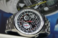 CITIZEN BY0000-56E Eco-Drive ATOMIC RADIO CONTROLLED WORLD TIME  wr200  (2)