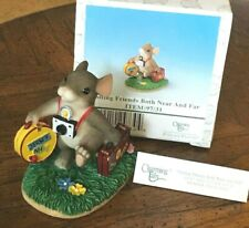 Charming Tails Visiting Friends both Near and Far Figurine by Fitz and Floyd 97/