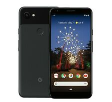 Google Pixel 3a XL 64GB Just Black Sprint ONLY Brand New Original Box