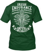 Casual Irish Endurance - Invaded Degraded Famished Hanes Tagless Tee T-Shirt