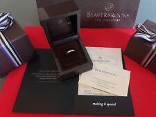 Beaverbrooks Platinum Wedding Ring RRP £795 Size K