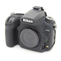 New Black Silicone Rubber Armor Soft Camera Bag Case Cover For Nikon D750
