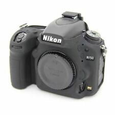 New Black Silicone Rubber Armor Soft Camera Bag Case Cover For Nikon D750