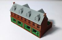 Outland Models Train Railway Layout Victorian City Building Shop Row Z Scale