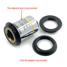 Microscope Objective lens Adapter Ring C-mount to RMS for Industrial CCD Camera