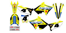 2001-2009 Suzuki RM 125 RM 250 POLISPORT Restyled Graphics Kit Decal RM125 RM250