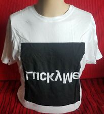 Lucky Me - 100% Cotton T-Shirt - Large - White - NEW