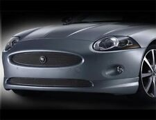 Jaguar XK Upper & Lower Mesh Grille PKG w emblem Stainless and chrome edge 07-09