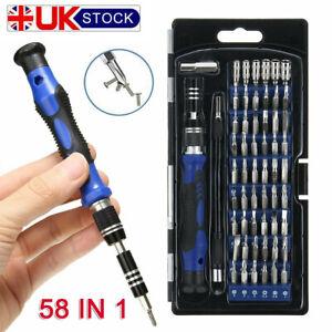 58 in 1 Phone Computer Repair Tool Kit Precision Small Screwdriver Set 54Bit