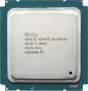 Intel Xeon E5-2697 V2 (SR19H) 2.70GHz 12-Core LGA2011 CPU