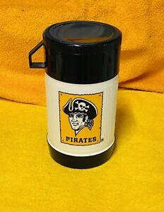 Vintage Pittsburgh Pirates Thermos Mug Beverage Container Foodland - SGA